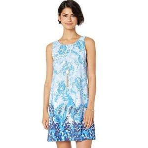 NEW Blue Peri Kristen dress by Lilly Pulitzer